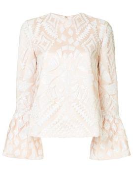 geometric-pattern-blouse by huishan-zhang