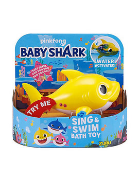 Baby Shark Sing And Swim Bath Toy Baby Shark by Mothercare