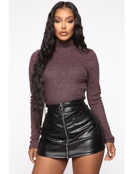 layla-mock-neck-top---rose by fashion-nova