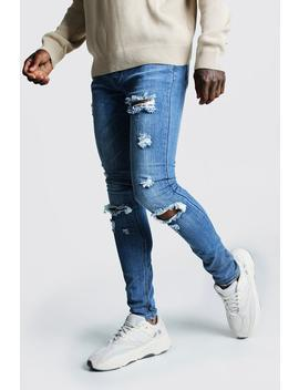 super-skinny-jeans-with-busted-knees by boohoo