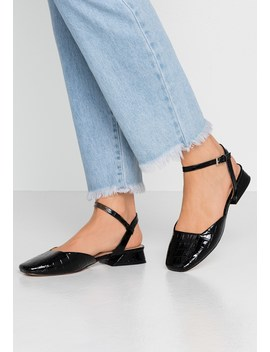 Alaska Square Toe   Slingback Ballet Pumps by Topshop