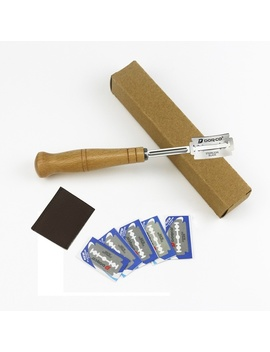 304-stainless-steel-bread-dough-flattening-knife-bread-dressing-knife-bread-tool-(5-knives-and-1-leather-case) by wish