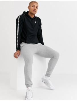 nike-logo-taping-hoodie-in-black by nike