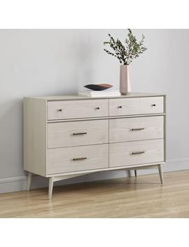 mid-century-6-drawer-dresser---pebble by west-elm