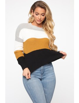 on-the-way-sweater---heather_combo by fashion-nova
