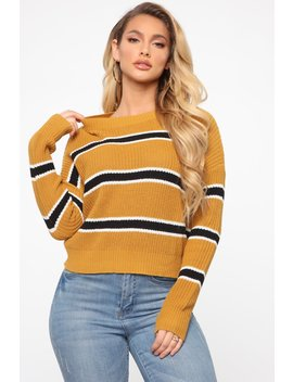 here-for-you-sweater---mustard_black by fashion-nova