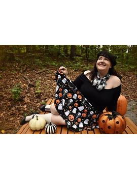 halloween-skater-skirt---size-xs-3x by etsy