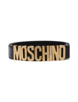 logo-letter-belt by moschino