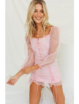 Must Be The Place Mini Dress // Pink by Vergegirl