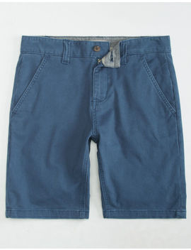 Charles And A Half Lincoln Stretch Blue Mens Shorts by Charles And A Half