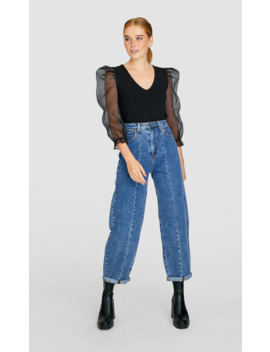 jeans-carrot-fit by stradivarius