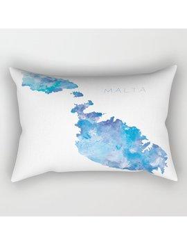 Malta Rectangular Pillow by Society6