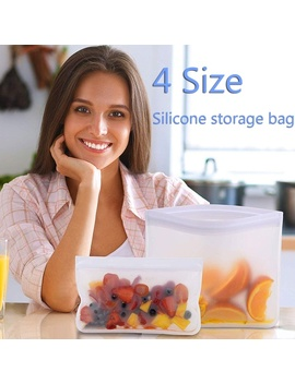 1_3_5pcs-silicone-food-storage-container-reusable-stand-up-zip-shut-bag-cup-reusable-fruit-meat-milk-fresh-bags-home-kitchen-organizer- by wish