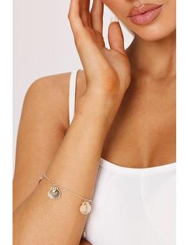 gold-shell-charm-bracelet by i-saw-it-first