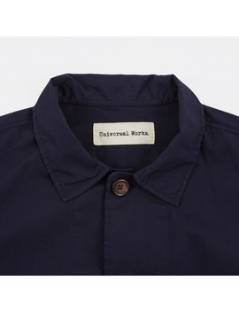 Bakers Over Shirt   Navy by Universal Works