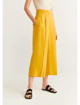 linen-paper-bag-pants by mango