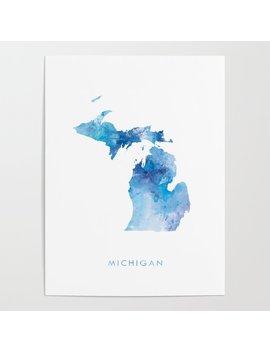 Michigan Poster by Society6