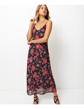 Floral Mesh Slip Dress by Sportsgirl