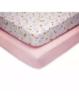 little-love-by-nojo®-shes-so-lovely-fitted-crib-sheets-(set-of-2) by little-love-by-nojo