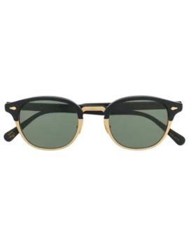 lemtosh-mac-round-frame-sunglasses by moscot