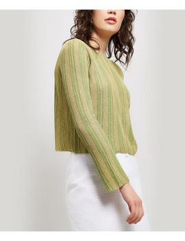 ciudad-scoop-neck-stripe-knit by paloma-wool