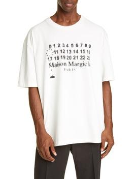 oversize-logo-t-shirt by maison-margiela