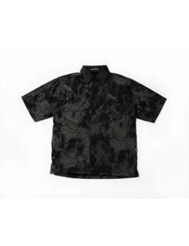"rare-issey-miyake-""glamour-smoke""-ss-velour-shirt by issey-miyake  ×"
