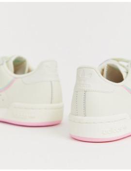 adidas-originals---continental-80---baskets---blanc-cassé-et-rose by adidas