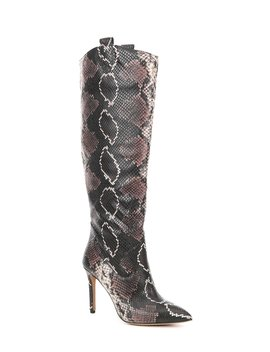 kervana-snake-print-leather-western-stovepipe-boots by vince-camuto