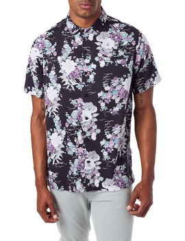 slim-fit-floral-short-sleeve-button-up-sport-shirt by 7-diamonds