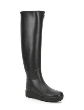 tall-refined-creeper-slim-fit-rain-boots by hunter