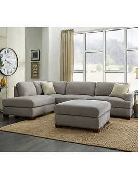 sinclair-3-piece-fabric-sectional by costco