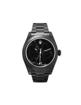 rolex-milgauss-marble-watch by mad-paris