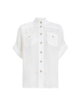 Super Eight Safari Shirt by Zimmermann