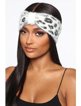 here-kitty-kitty-headband---white by fashion-nova