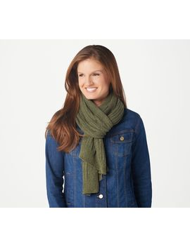 barefoot-dreams-cozychic-lite-ribbed-scarf by barefoot-dreams