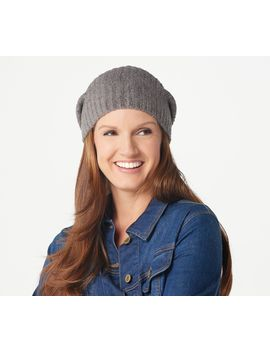 barefoot-dreams-cozychic-lite-ribbed-beanie by barefoot-dreams