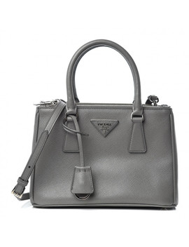 prada-saffiano-mini-galleria-double-zip-tote-marmo by prada