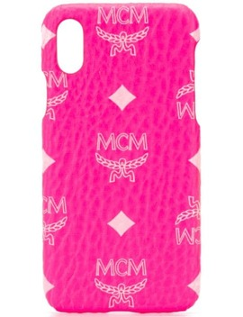 logo-print-iphone-x-case by mcm