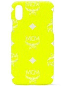 logo-iphone-x-case by mcm