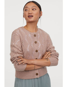 lace-knit-cardigan by h&m