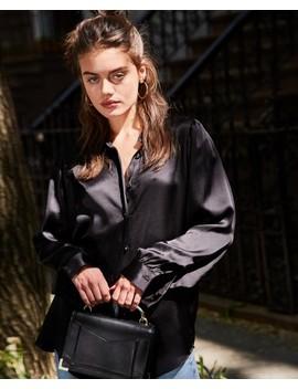 Black Long Dress Shirt by The Kooples