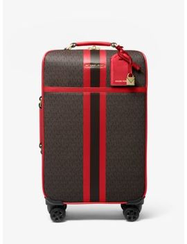 bedford-travel-extra-large-logo-stripe-suitcase by michael-michael-kors