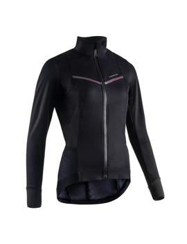 Van Rysel Women's Sportive Cold Weather Jacket   Black by Van Rysel