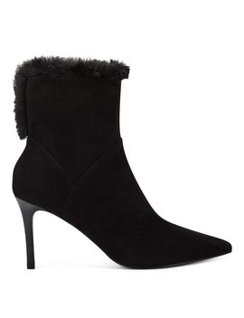 Fhani Pointy Toe Bootie by Nine West