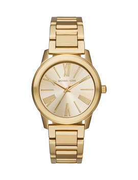 Hartman Gold Tone Steel Watch by Michael Kors