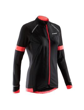 Van Rysel 900 Women's Long Sleeved Road Cycling Jersey   Black by Van Rysel