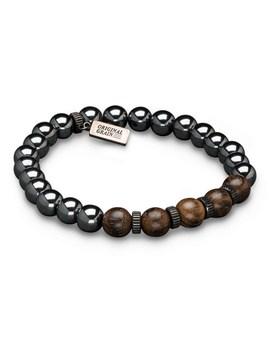 ebony-hematite-bracelet by original-grain