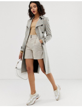 river-island---trench-coat-à-carreaux by river-island
