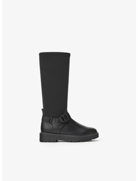 boots-with-buckle by zara